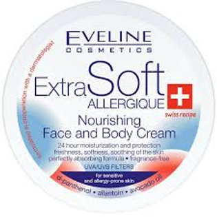 6pcs Extra Soft Nourishing Face & Body Cream UVA & UVB Sensitive Skin 200ml