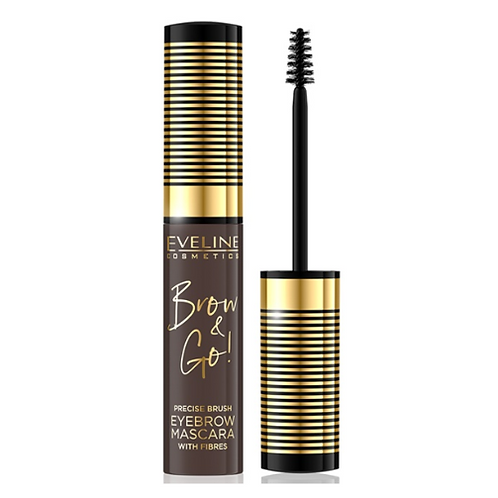 10pcs Eveline BROW & GO EYEBROW MASCARA NO 2