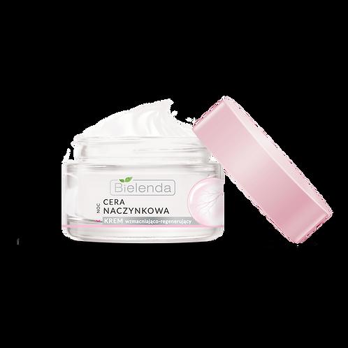 6PCS CAPILLARY SKIN face cream strengthening - regenerating for night 50 ml