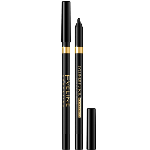 12pcs Eveline EYELINER EYE PENCIL BLACK WATERPROOF
