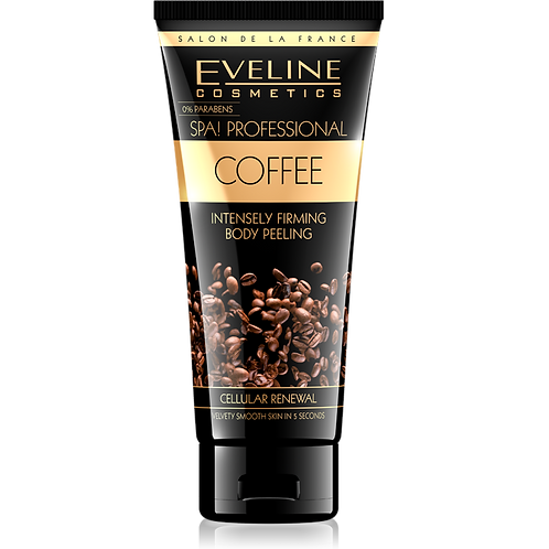 8PCS SPA! PROFESSIONAL - COFFEE NTENSELY FIRMING BODY PEELING