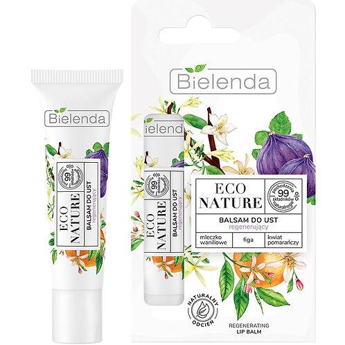 6PCS Eco Nature Vanilla Milk + Fig + Orange Blossom Regenerating Lip Balm 10g