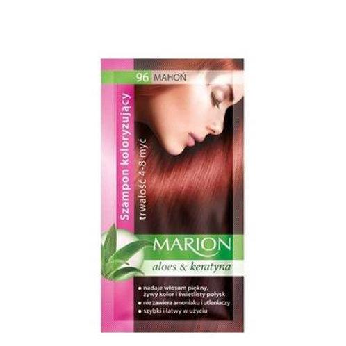 10PCS HAIR COLOURING SHAMPOO WITH KERATIN & ALOE  96 Mahogany
