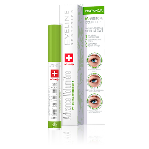 15PCS EYELASHES CONCENTRATED SERUM 3 IN 1 ADVANCE VOLUMIÉRE