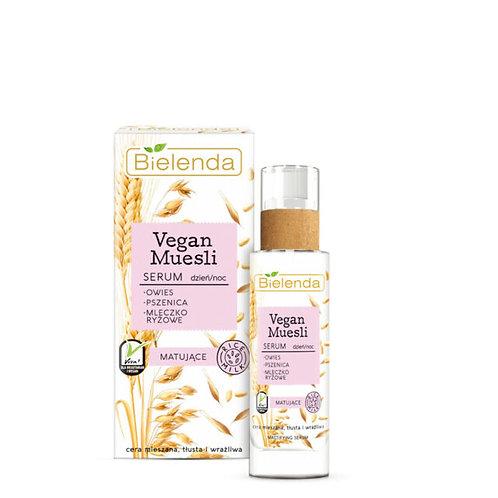 6pcs VEGAN MUESLI matting serum oat + wheat + rice milk 30 ml