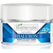 6 PCS NEURO HIALURON moisturizing face cream - concentrate 40+ day/night 50 ml