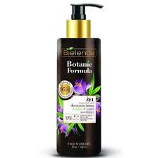 6pcs BOTANIC FORMULA Hemp Oil + Saffron Moisturizing face cleansing gel