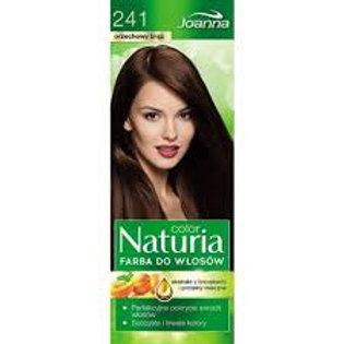 8PCS Naturia Permanent Color Hair Colour 241 Nut Brown