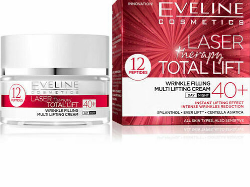 5pcs  Laser Therapy Total Lift Day and Night Cream 40+ 50ml