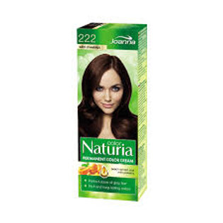 8pcs Naturia Hair Dye 222 Wild Chestnut