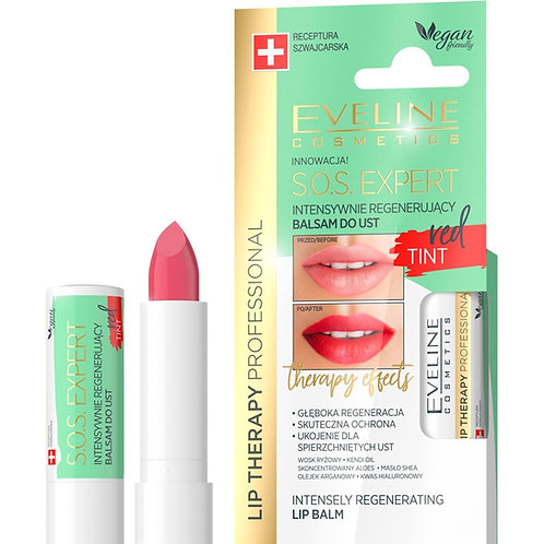 12PCS Lip Therapy SOS Expert Lip Balm Red