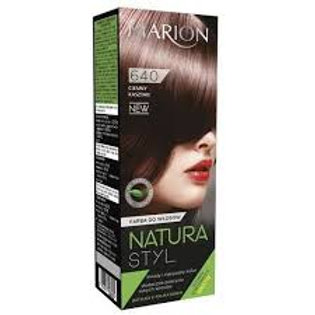 6PCS HAIR COLOR CREAM NATURA STYL_DARK CHESTNUT