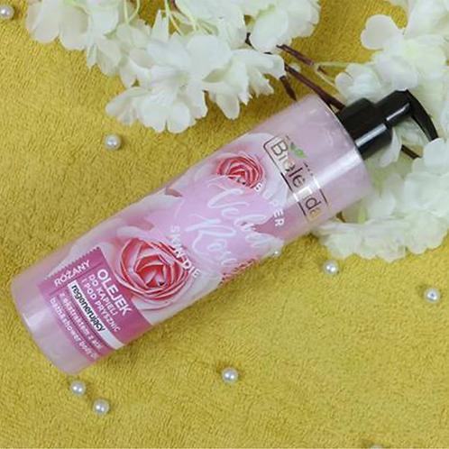 6pcs SUPER SKIN DIET Velvet Rose regenerating bath&shower oil Rose 400 ml