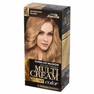 6PCS MULTI CREAM COLOR DYE HAIR SUNNY BLOND