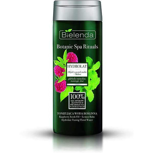 6pcs PBOTANIC SPA RITUALS Raspberry Seeds Oil + Lemon Balm Hydrolate toning flr