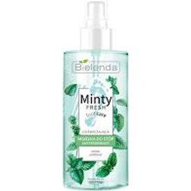 6pcs MINTY FRESH FOOT CARE Refreshing antiperspirant mist for feet 150 ml