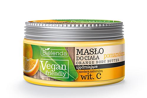 6pcs VEGAN FRIENDLY orange Body Butter 250ml