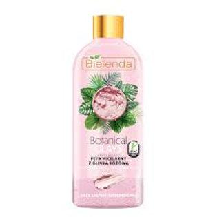 3pcs Botanical Clays Vegan Micellar Liquid Pink Clay Makeup Remover Dry Skin