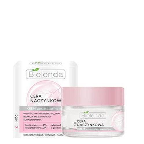 6 pcs CAPILLARY SKIN face cream strengthening - regenerating for night 50 ml