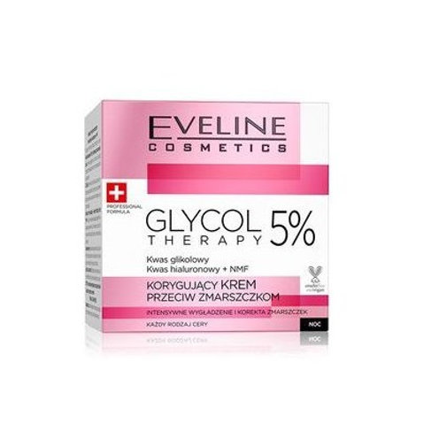 5pcs GLYCOL THERAPY 5% CORRECTING ANTI_WRINKLE CREAM 50ML