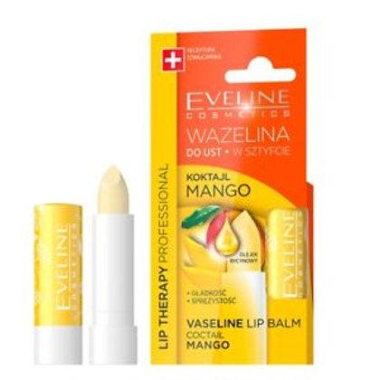 6 pcs Vaseline Lip Balm Coctail Mango