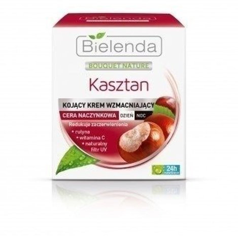 6pcs  Chestnut Strengthening Cream Vascular Skin Day/Night 50 ml