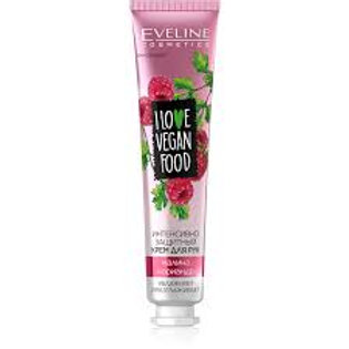 6PCS  I Love Vegan Food Protective Hand Cream Raspberry & Coriander 50ml.