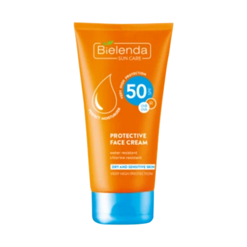 6PCS  SUN CARE High Protection Day Cream with SPF50 - 50ml