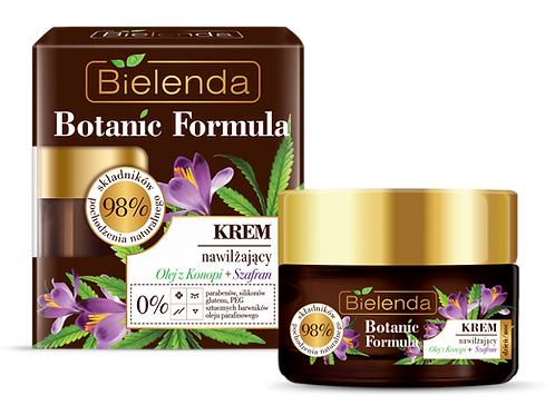 6pcs BOTANIC FORMULA Hemp Oil + Saffron Moisturizing cream day/night