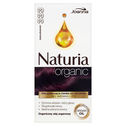 6pcs Joanna Naturia ORGANIC HAIR DYE EGGPLANT 333