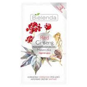 18pcs Red Ginseng Regenerating anti-wrinkle mask