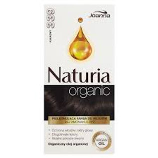 6pcs Naturia Organic  ammonia free color cream - Cocoa 339