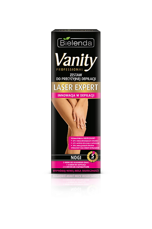 6PCS VANITY LASER EXPERT Targeted LEG Hair-Removal 100ML