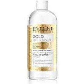 8PCS Gold Lift Expert Anti Wrinkle Micellar Water Mature Sensitive Skin