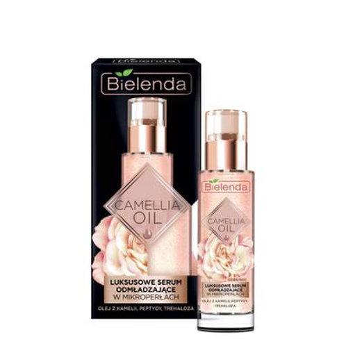 3pcs CAMELLIA OIL Luxurious rejuvenating serum day/night, 30 g