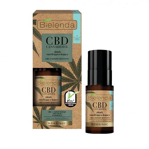 6PCS CBD Cannabidiol moisturizing and soothing face oil