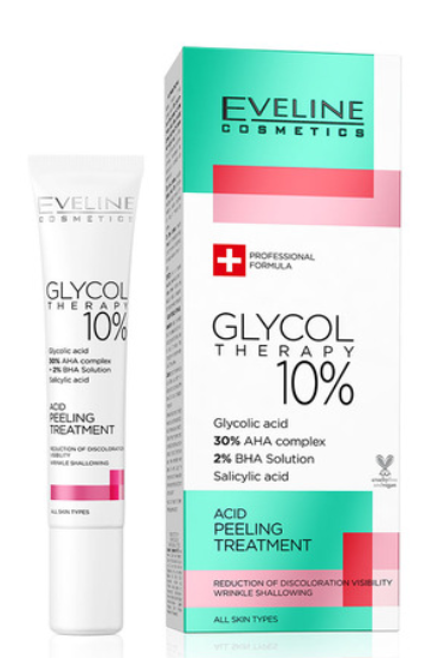 12pcs GLYCOL THERAPY 10% ACID PEELING TREATMENT 20ML