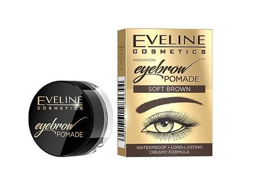 3pcs Eveline EYEBROW POMADE SOFT BROWN