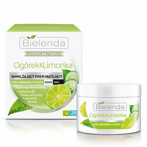6PCS CUCUMBER AND LIME day/night cream 50ml