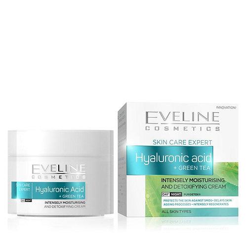 5pcs Expert Hyaluronic Acid Green Tea Face Cream Day/night 50ml