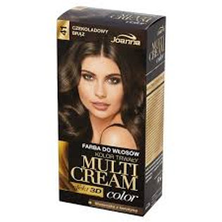 6PCS  Multi Cream Color Hair Dye Chocolate Brown 41