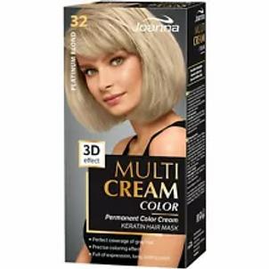 6PCS Multi Cream Color - Hair dye 32 PLATINUM BLOND