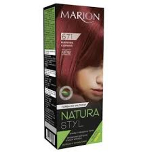 6PCS HAIR COLOR CREAM NATURA STYL_RED RUBY