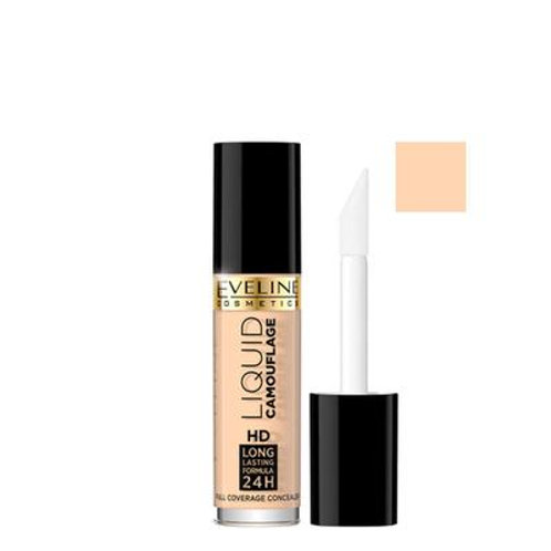 6PCS  Liquid Camouflage 24hd Lasting Face Concealer High Coverage 01light 5ml
