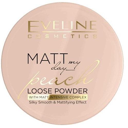 6PCS Powder with Matt Intensive Complex Silky Smooth & Matttifing Effect