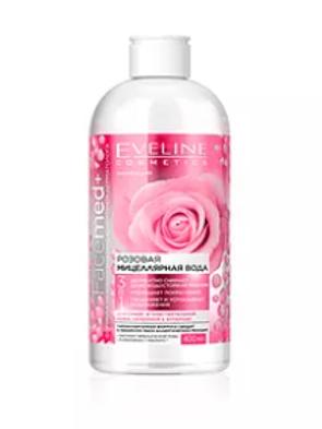 6PCS Facemed Tonning Micellar Rose Water Face Detox Waterproof Makeup 400ML