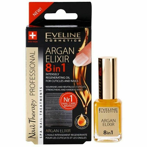 12PCS SPA NAIL THERAPY CONDITIONER ARGAN ELIXIR 12ML - £1.07 per unit