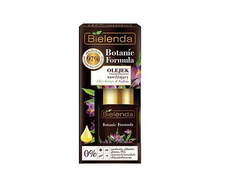 6pcs botanic formula hemp oil +saffron moisturizing face oil 15ml