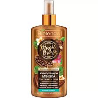 6PCS MAGIC BRONZE (N.) - 2in1 Self-tanning mist BODY + FACE 150 ml