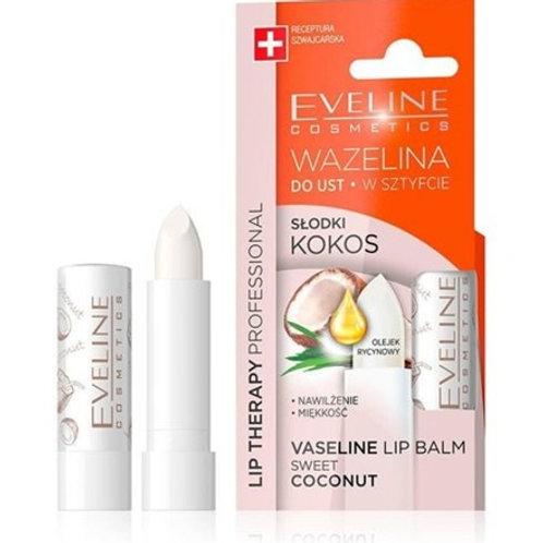 6PCS  Lip Therapy Vaseline Lipstick Sweet Coconut 3.8g